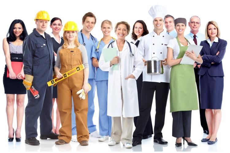 Sectores y profesiones con mejores condiciones