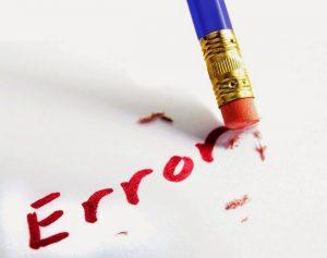 Miedo al error en las empresas