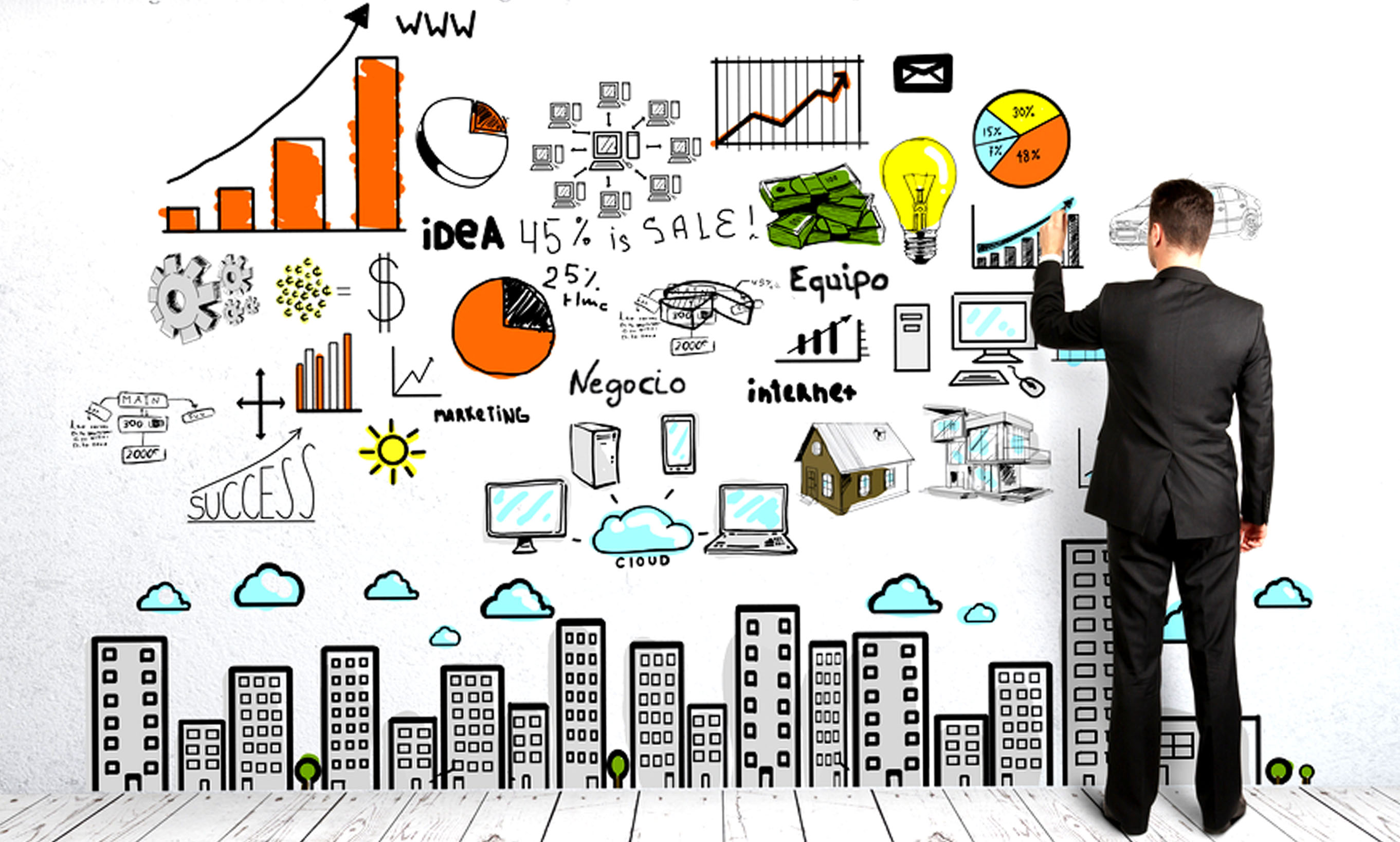 Montar un negocio en internet es fácil